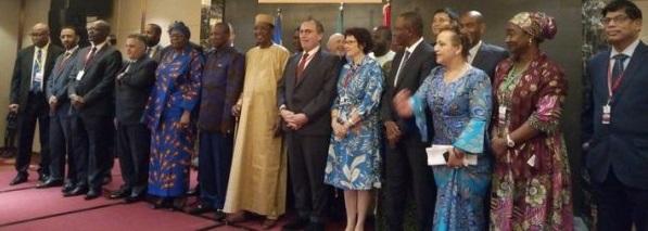 Forum sur les énergies renouvelables en Afrique : Alpha Condé et Idriss Déby lancent les travaux à Conakry